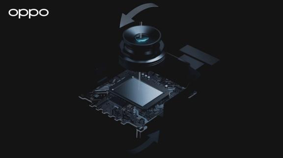 OPPO présente l'OIS à 5 axes de nouvelle génération avec un objectif mobile et des capteurs