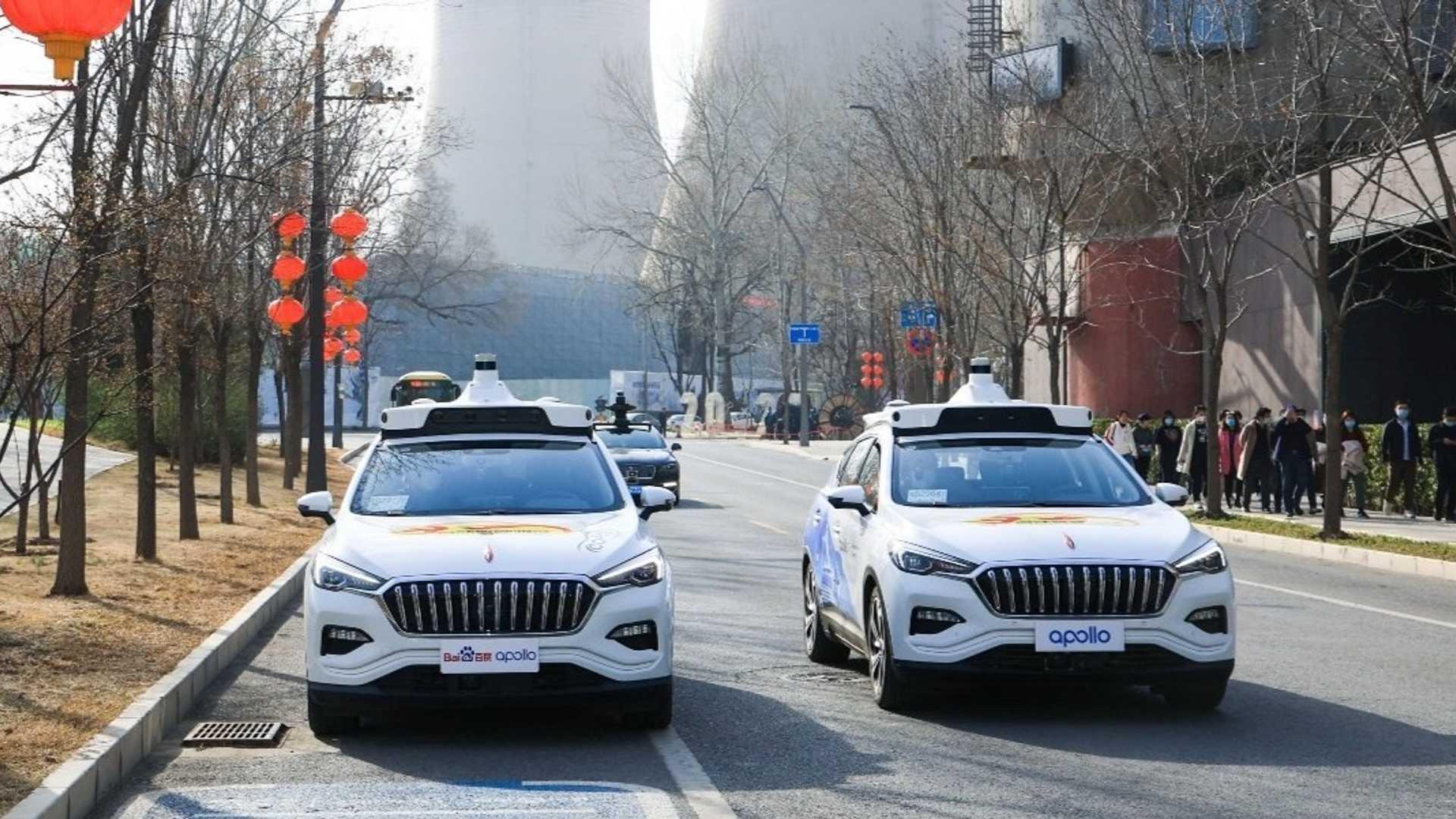 La Chine lance les premiers taxis autonomes à Pékin