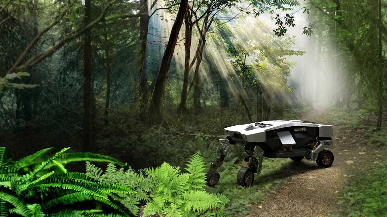 Véhicule de mobilité ultime Hyundai Tiger X-1