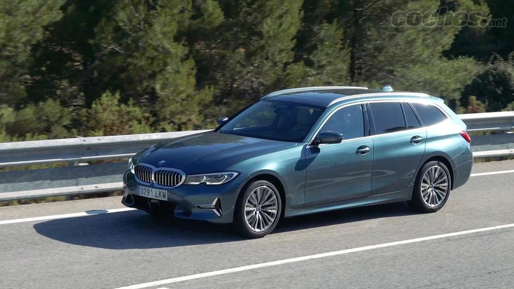 BMW Série 3 Familiale - La voiture idéale pour voyager en famille si nous sommes quatre membres.  Clairement meilleur qu'un SUV dans son comportement dynamique, il consomme aussi moins.