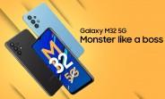 Samsung Galaxy M32 a annoncé la 5G: caméra quadruple 720 et 48MP Dimensity
