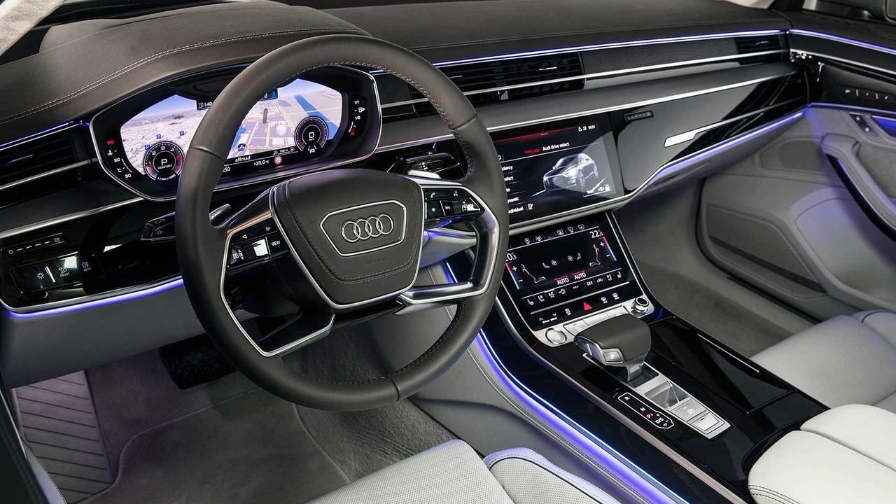 Premier essai de l'Audi A8 2018