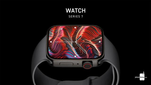 Rendu Apple-Watch-Series-7-new-design-exposed-in-superbe