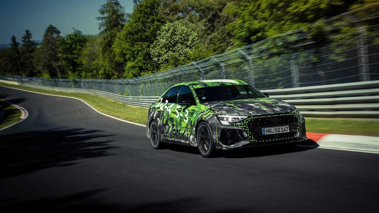 Audi RS 3 Berline 2021 avec le record du Nürburgring