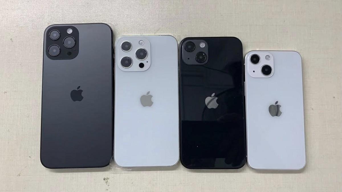 iPhone 13 Pro Max, 13 Pro, vanille 13 et 13 min