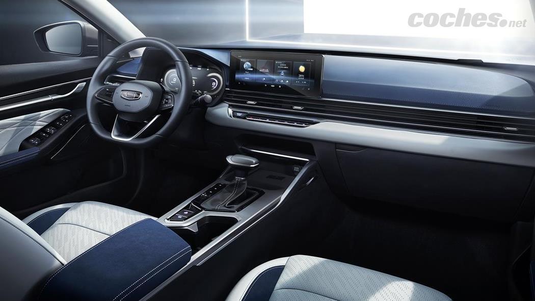 Les bouches d'aération du système de climatisation de la Geely Emgrand rappellent peut-être celles de la Volkswagen Passat.