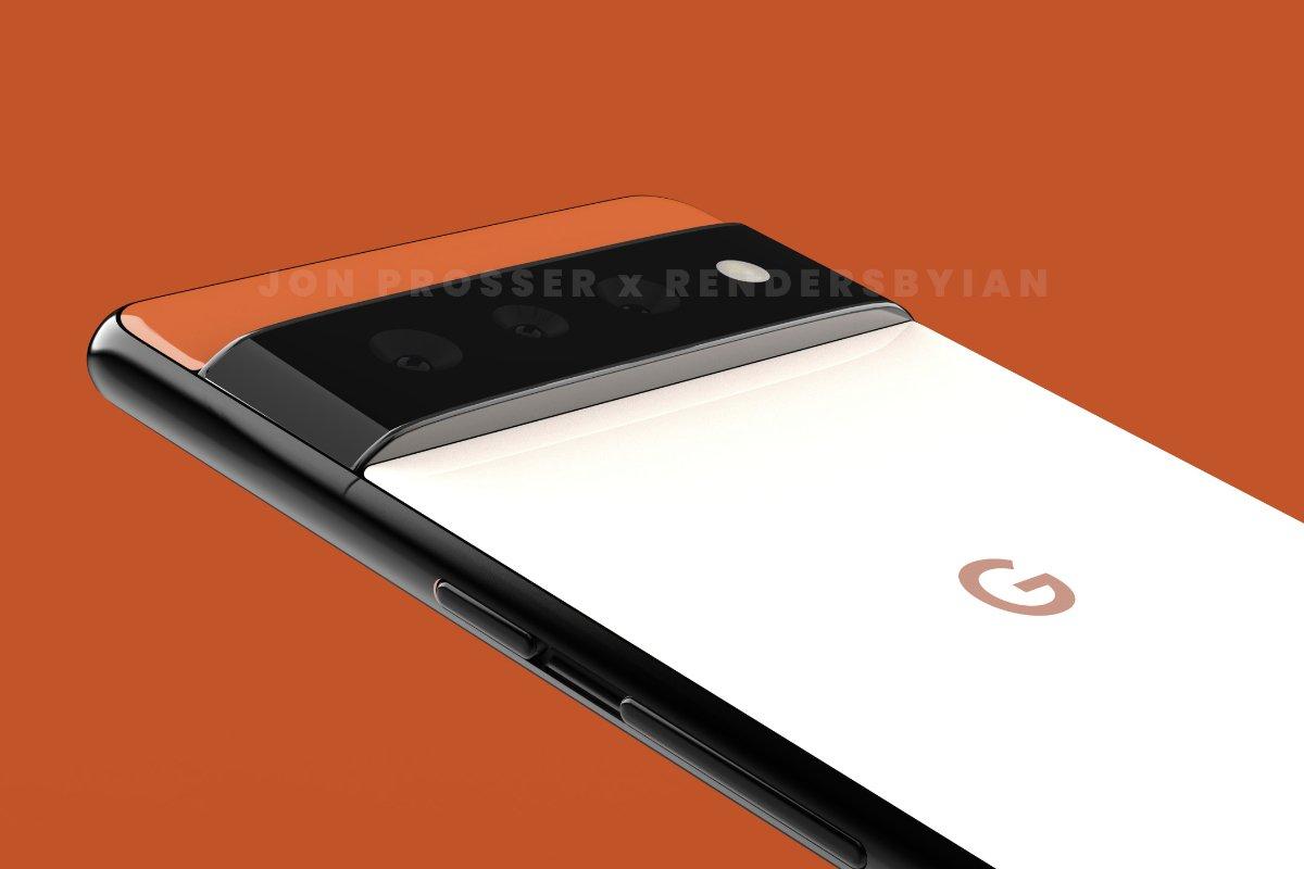 Google Pixel 6 render featured