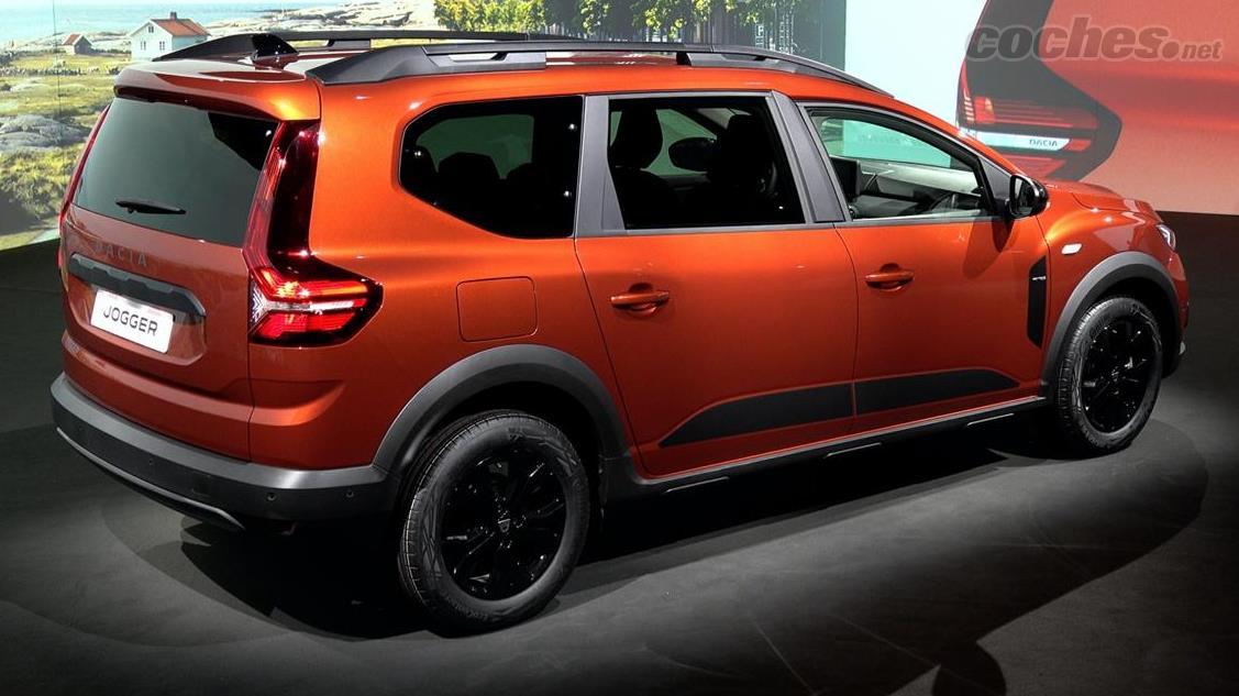 DACIA Dokker - Les feux arrière du Dacia Jogger rappellent ceux de Volvo et s'améliorent en personne.