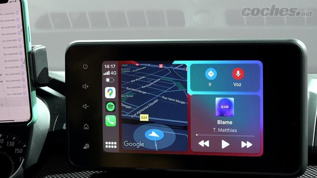 DACIA Dokker - Le Dacia Jogger est disponible avec 3 systèmes d'infodivertissement, celui-ci possède l'écran de 8 pouces.