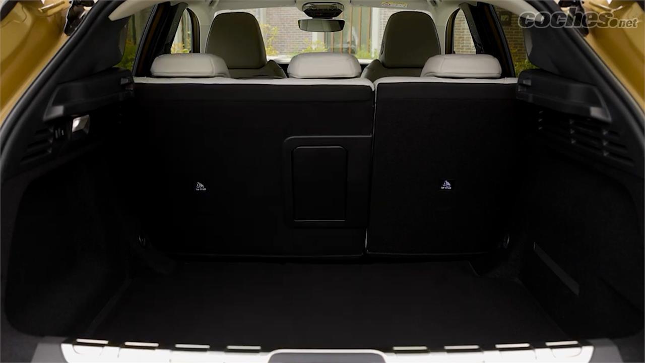 DS DS 4 - Le coffre de la DS 4 offre un volume de chargement de 439 litres en configuration 5 places.