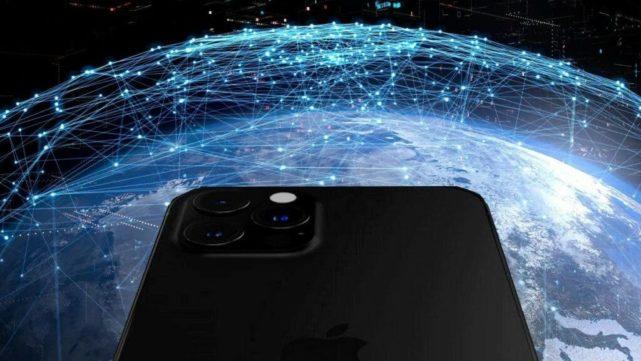 Les satellites iPhone 13 et leurs