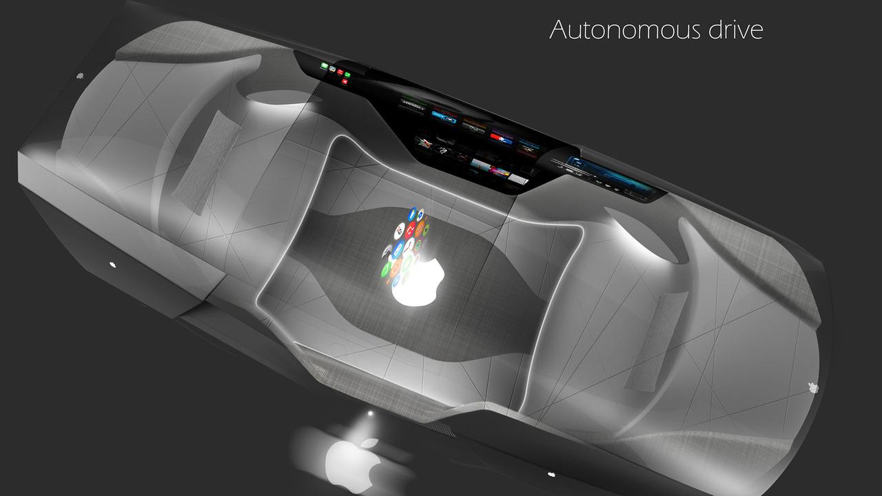 Apple Car 2076, verre intelligent