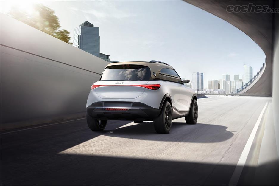 SMART forfour - Smart Concept #1, un SUV électrique qui aura 430 kilomètres d'autonomie.