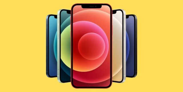 Prise en charge de l'iPhone 12 5g