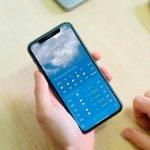 Comment avoir une alarme de pluie sur votre iPhone sans rien installer, juste avec l'application météo