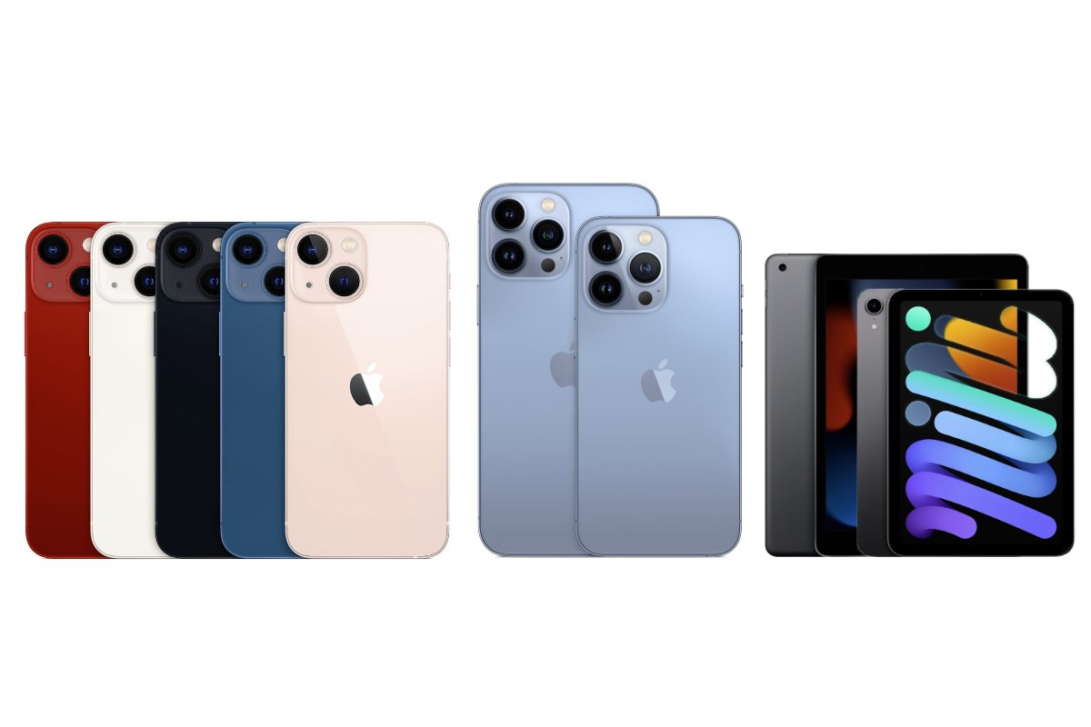 iPhone 13, iPad mini and iPad 9th gen are now available
