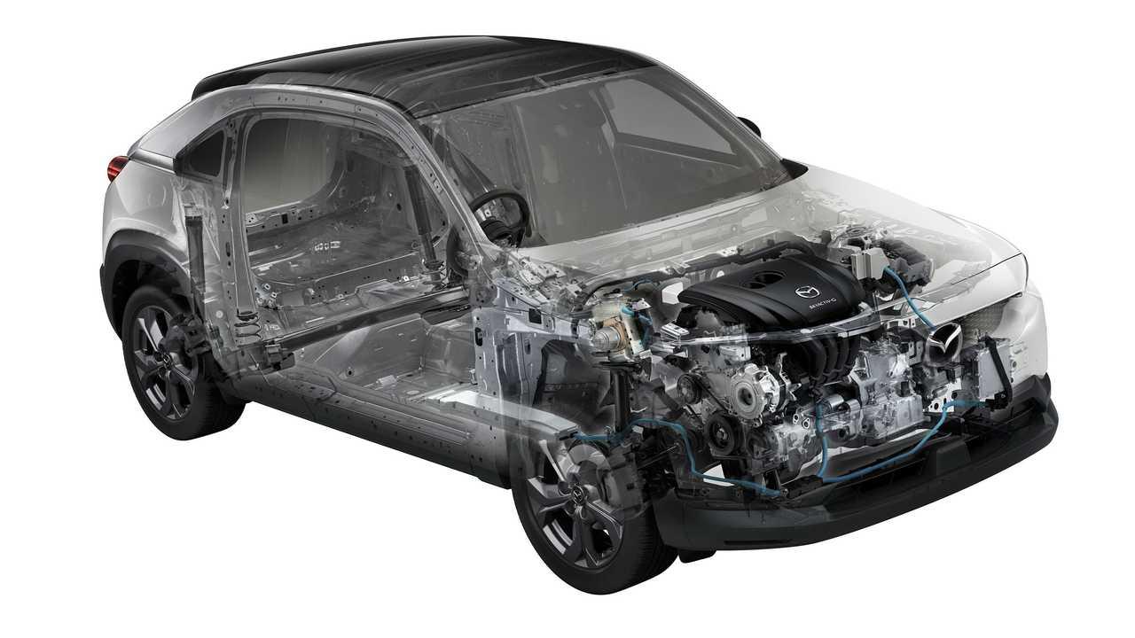 Mazda MX-30 avec moteur hybride doux