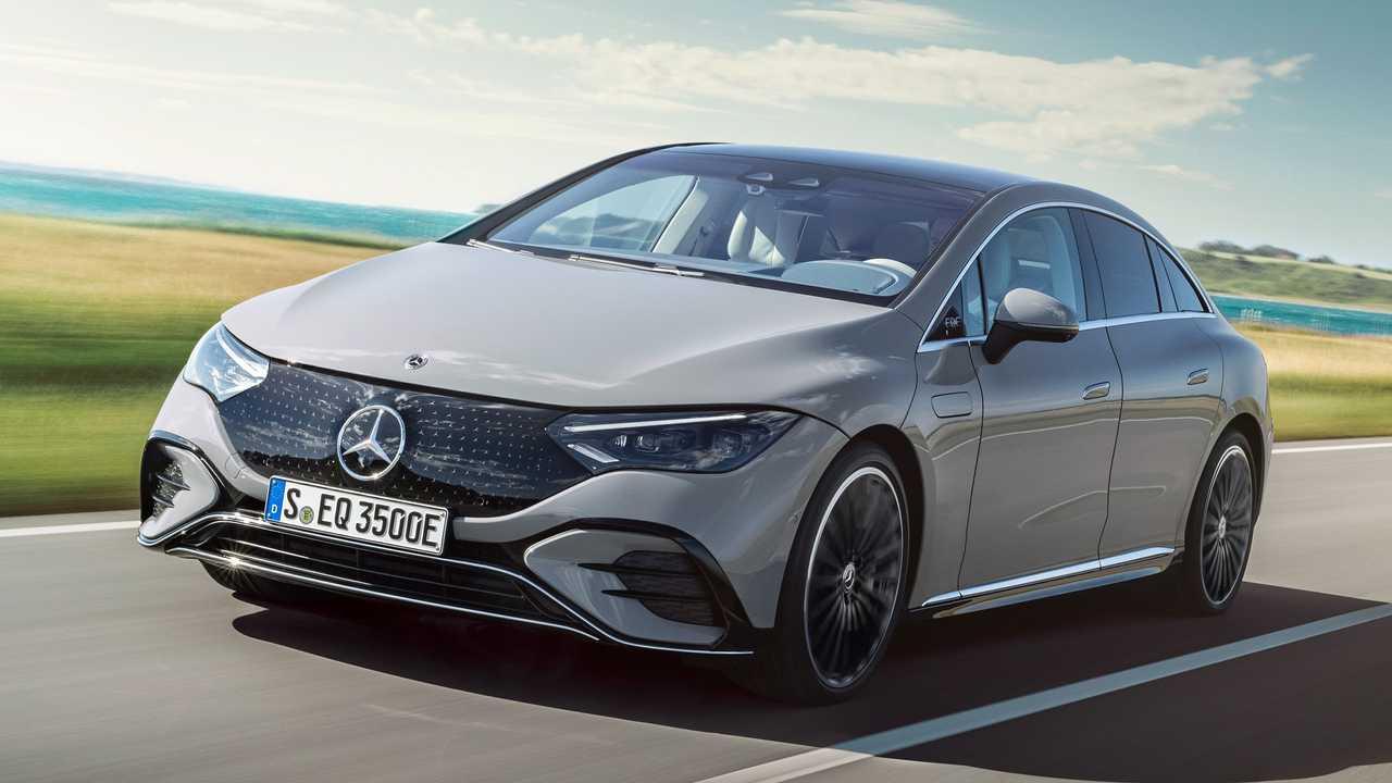 Mercedes-Benz EQE 350 2022
