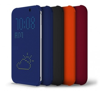 Étui HTC One DotView (M8)