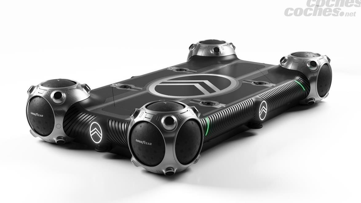 Le Citroën Skate est une plateforme électrique et autonome pouvant se déplacer à une vitesse maximale de 25 km/h.
