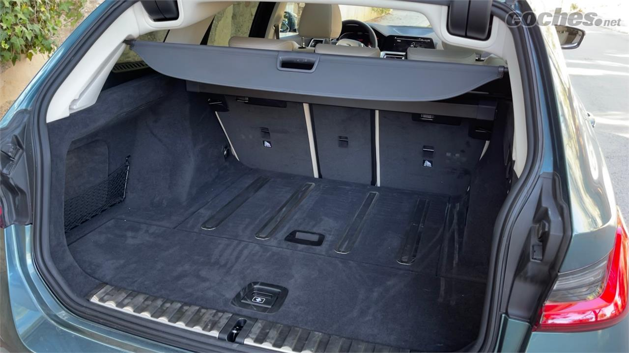 BMW Série 3 Familiale - Le coffre de la BMW 320d xDrive Touring propose 500 litres, mais surtout, un équipement très complet pour en tirer le meilleur parti.