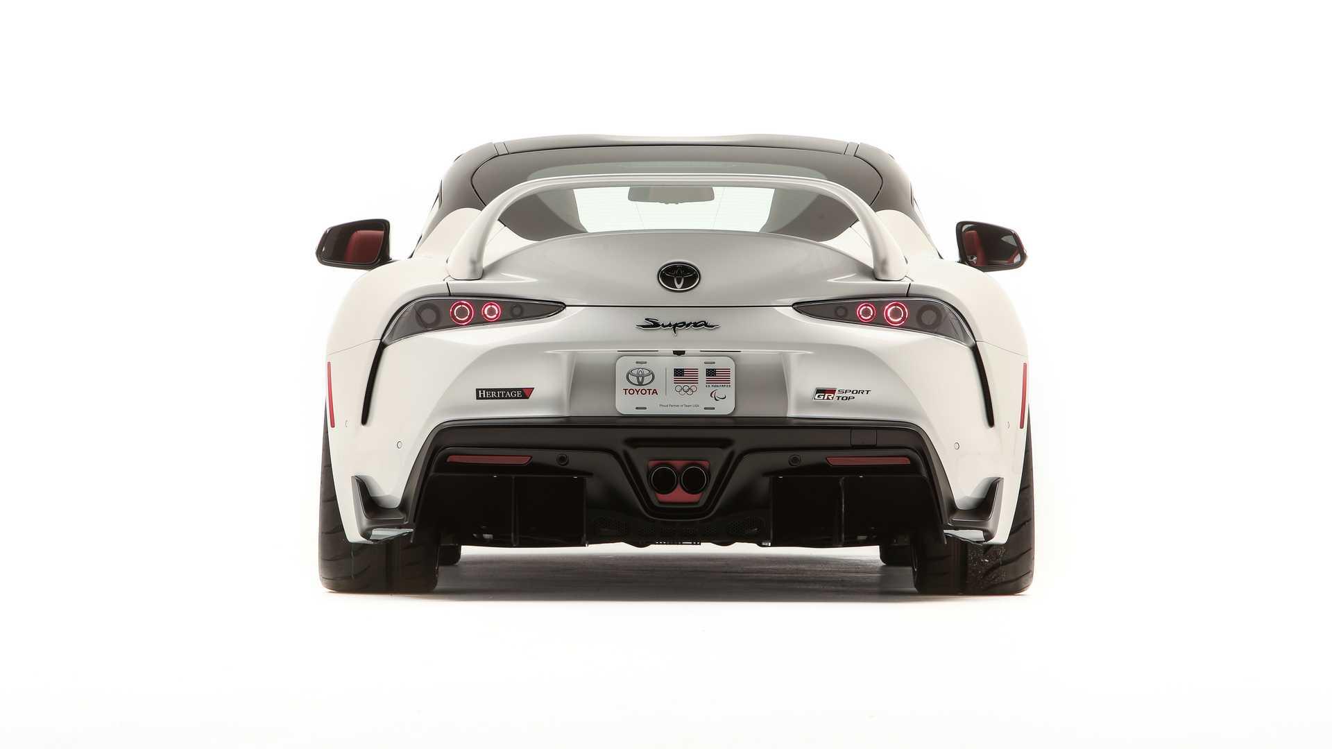 Haut Toyota GR Supra Sport