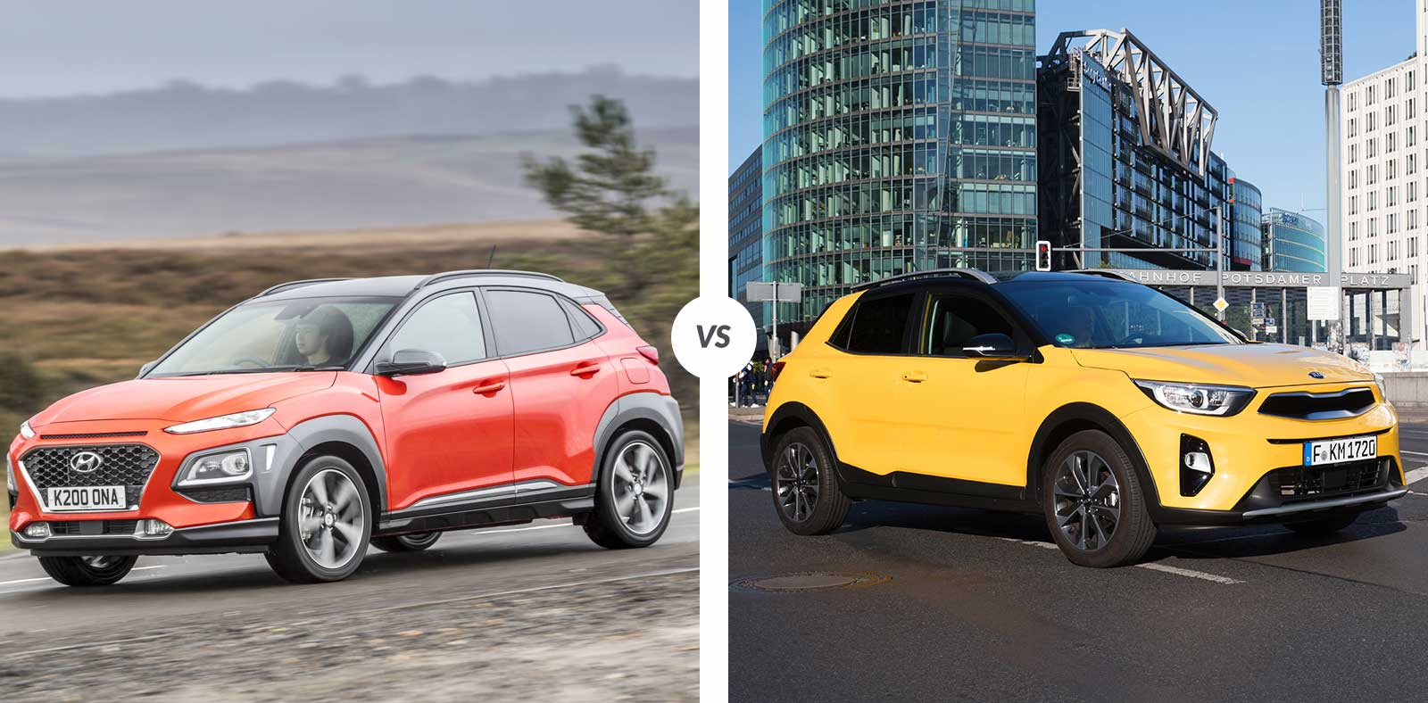 Comparaison : Hyundai Kona vs Kia Stonic