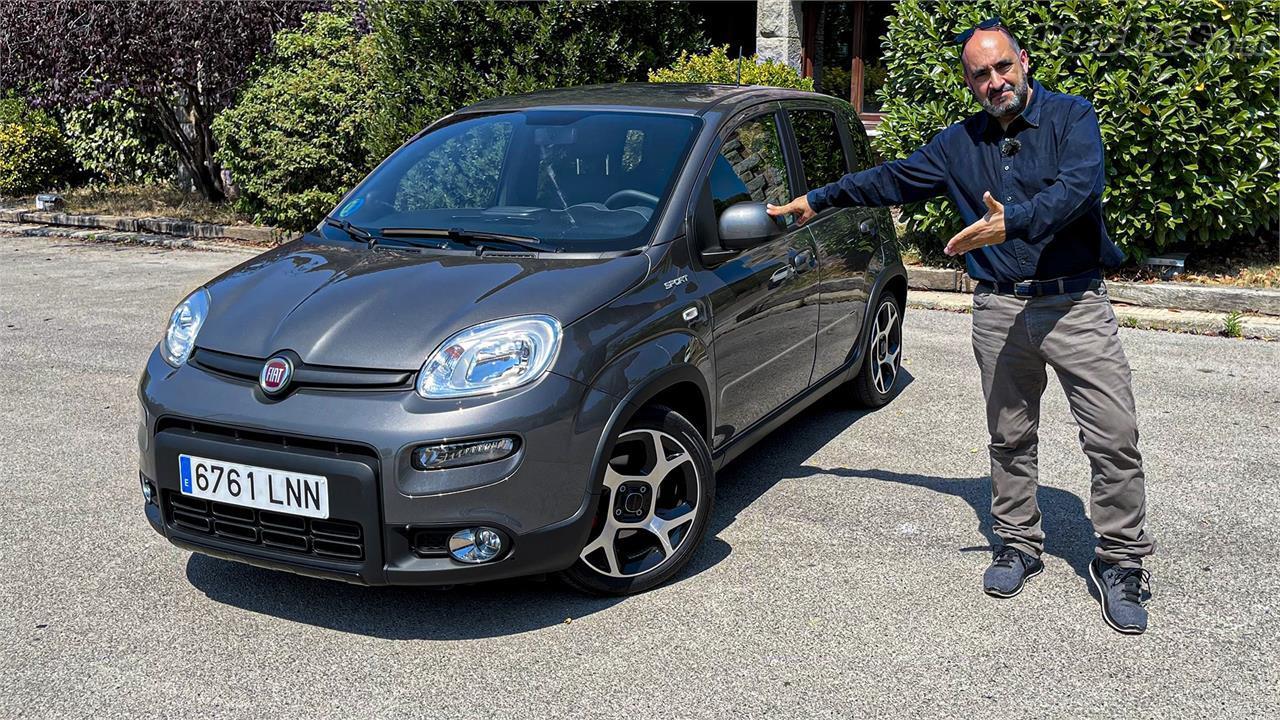 Fiat Panda Sport : Un hybride léger urbain de premier prix