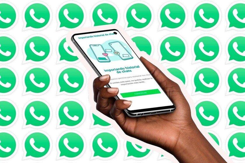 Il est déjà possible pour la plupart des Samsung Galaxy de passer WhatsApp entre Android et iPhone