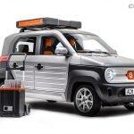 Echando un primer vistazo el ACM City One presenta un diseño que recuerda al del prototipo del Honda Element del 2002, pero con unas dimensiones casi de Kei-Car japonés.