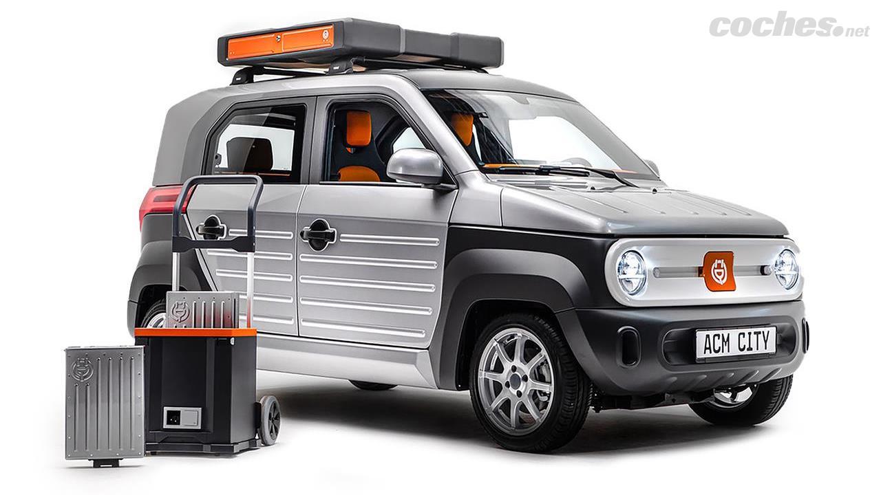 À première vue, l'ACM City One présente un design rappelant celui du prototype Honda Element 2002, mais avec des dimensions presque semblables à celles d'une Kei-Car japonaise.