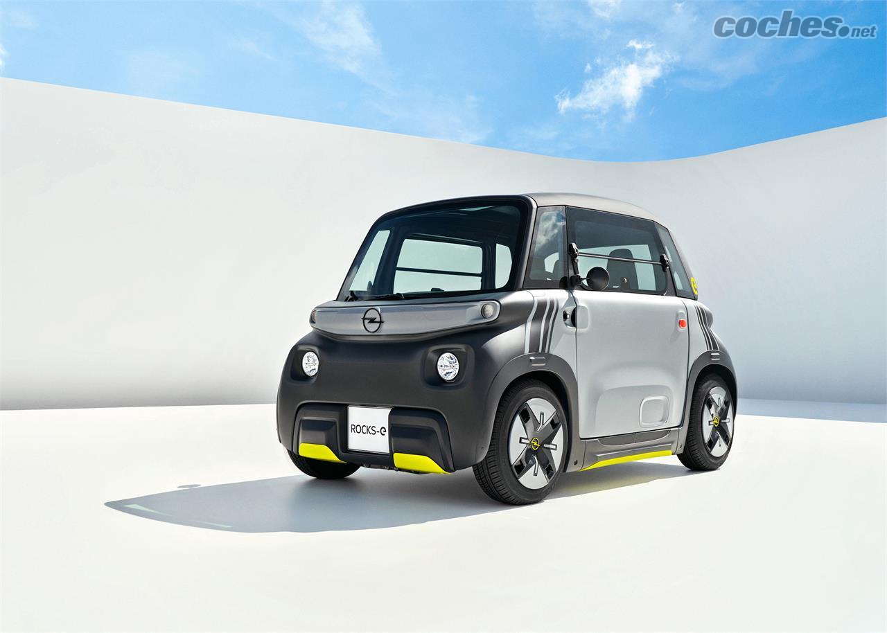 L'Opel Rocks-e est une micro-voiture électrique sans permis avec 75 kilomètres d'autonomie