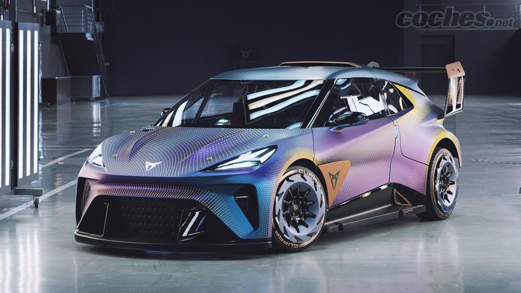 CUPRA Ateca - La CUPRA UrbanRebel que l'on peut voir en direct la semaine prochaine à l'IAA de Munich est une voiture de course 100 % électrique.