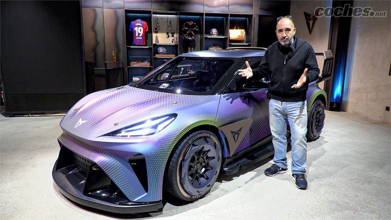 La CUPRA UrbanRebel anticipe la voiture électrique que la marque lancera en 2025
