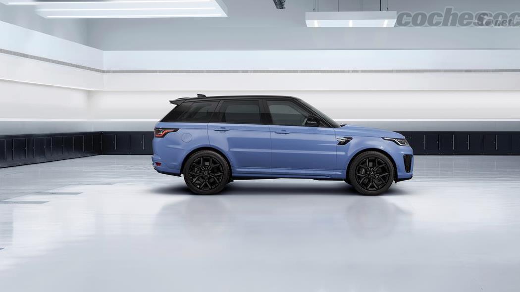 LAND-ROVER Range Rover Sport - Le Range Rover Sport SVR Ultimate Edition est une série spéciale avec un moteur V8 de 575 ch.