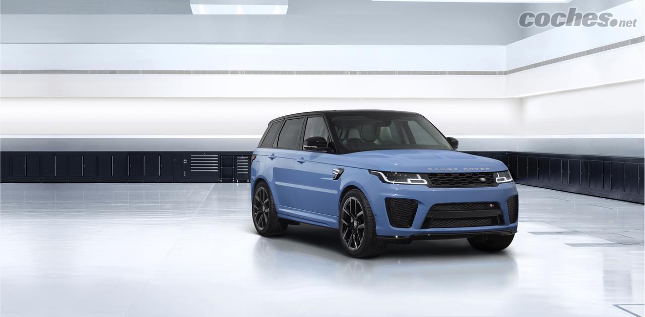 Le Range Rover Sport SVR Ultimate Edition est une série spéciale avec un moteur V8 de 575 ch
