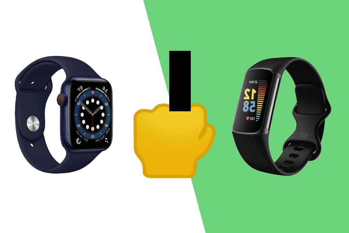 fitbit middle finger apple watch ios