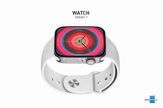 Apple-Watch-Series-7-flat-frame-blanc