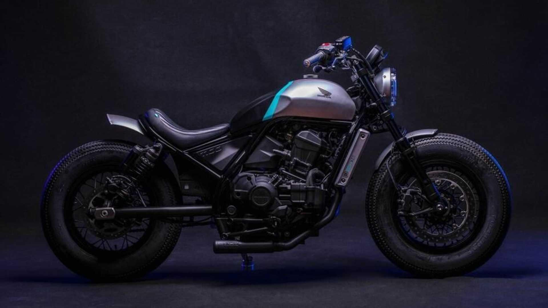 Bobber CMX : Honda Rebel 1100 2021
