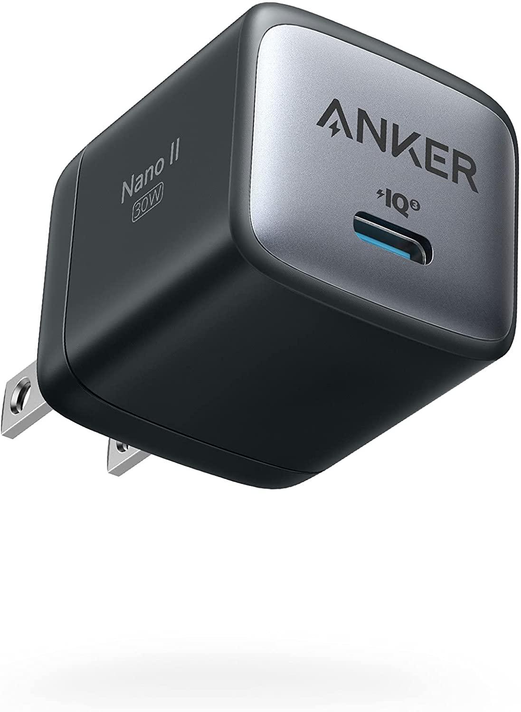 Adaptateur de charge anticipée Anker Nano GaN II 30W