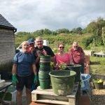 Live Well Growers - Paula : C'est mon bonheur.     Jardin botanique national du Pays de Galles