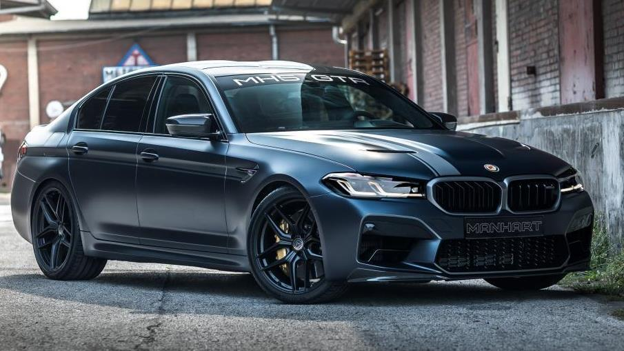 Manhart vient de présenter la MH5 GTR, une supercar basée sur l'exclusive BMW M5 CS.