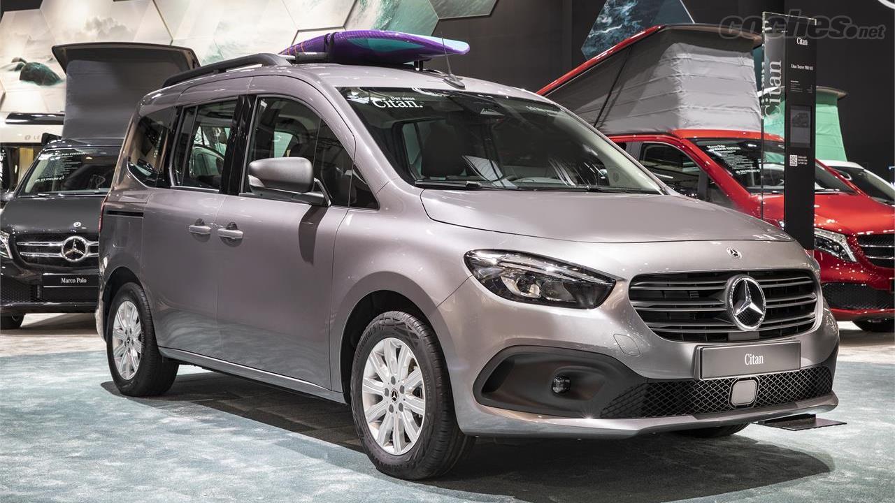 MERCEDES-BENZ Citan - Le micro camping-car Mercedes-Benz est le futur Citan Marco Polo.