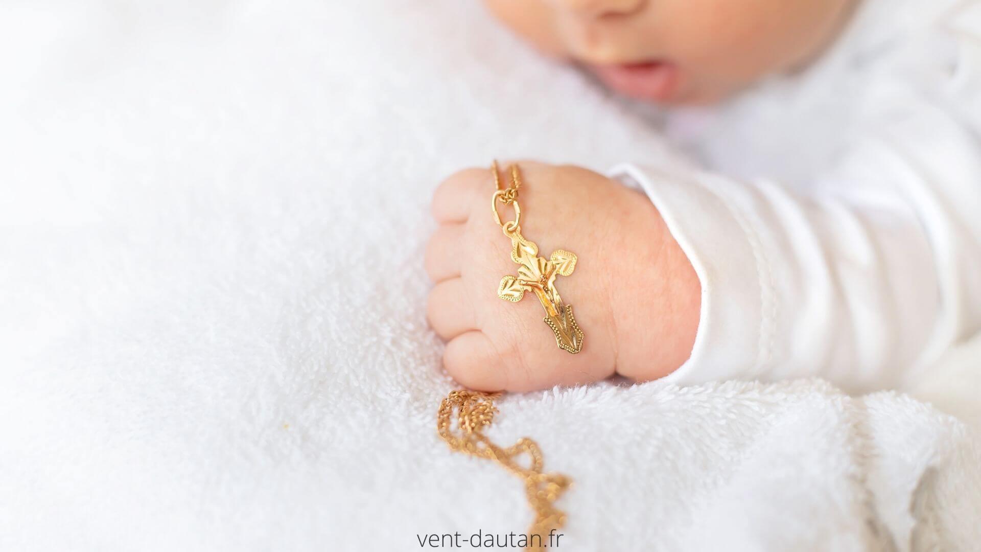 Mots et discours pour bâptème de bébé