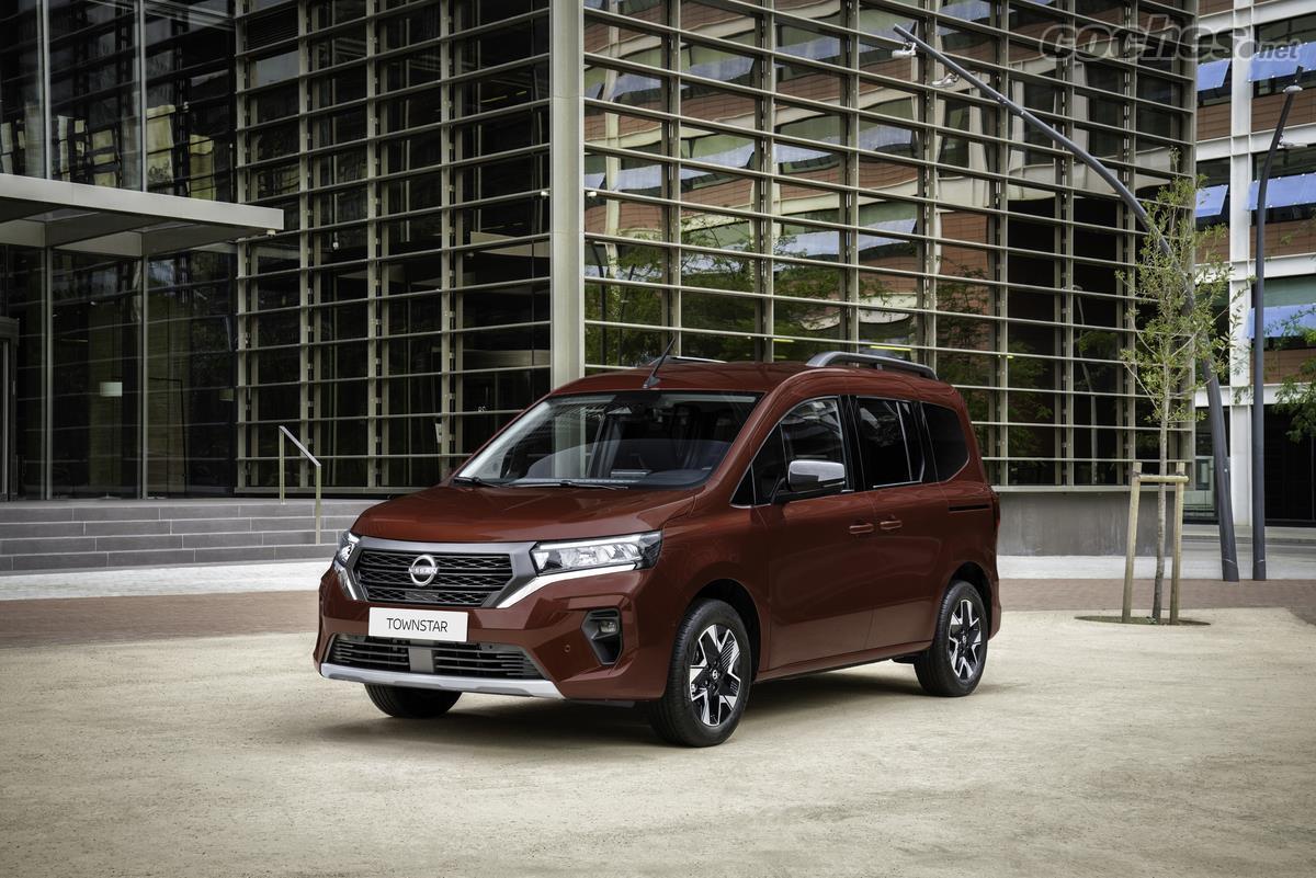 Nissan Townstar : Nouveau clone du fourgon citadin Kangoo pour remplacer le NV 200