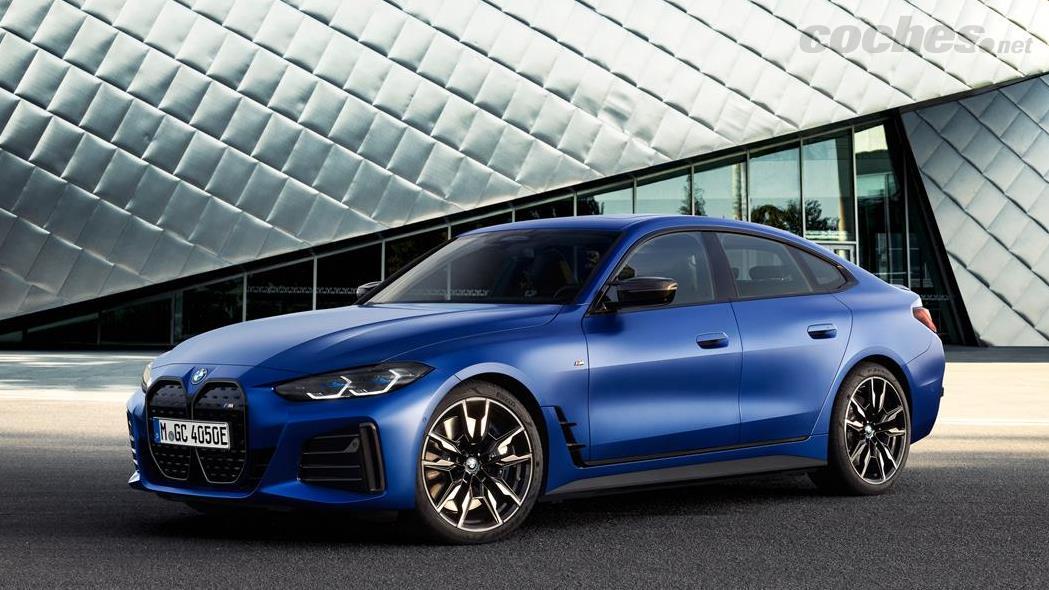 BMW i4 - La BMW i4 M50 est le premier coupé sport 5 places 100 % électrique de BMW.