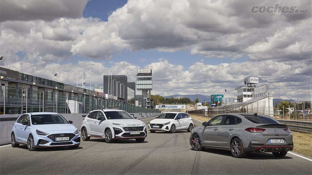 HYUNDAI Bayon - La gamme N de Hyundai se compose des Fastbacks i20 N, i30 N et i30 N et du nouveau venu Kona N.