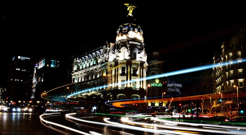 Où conduire à Madrid avec le label B jaune