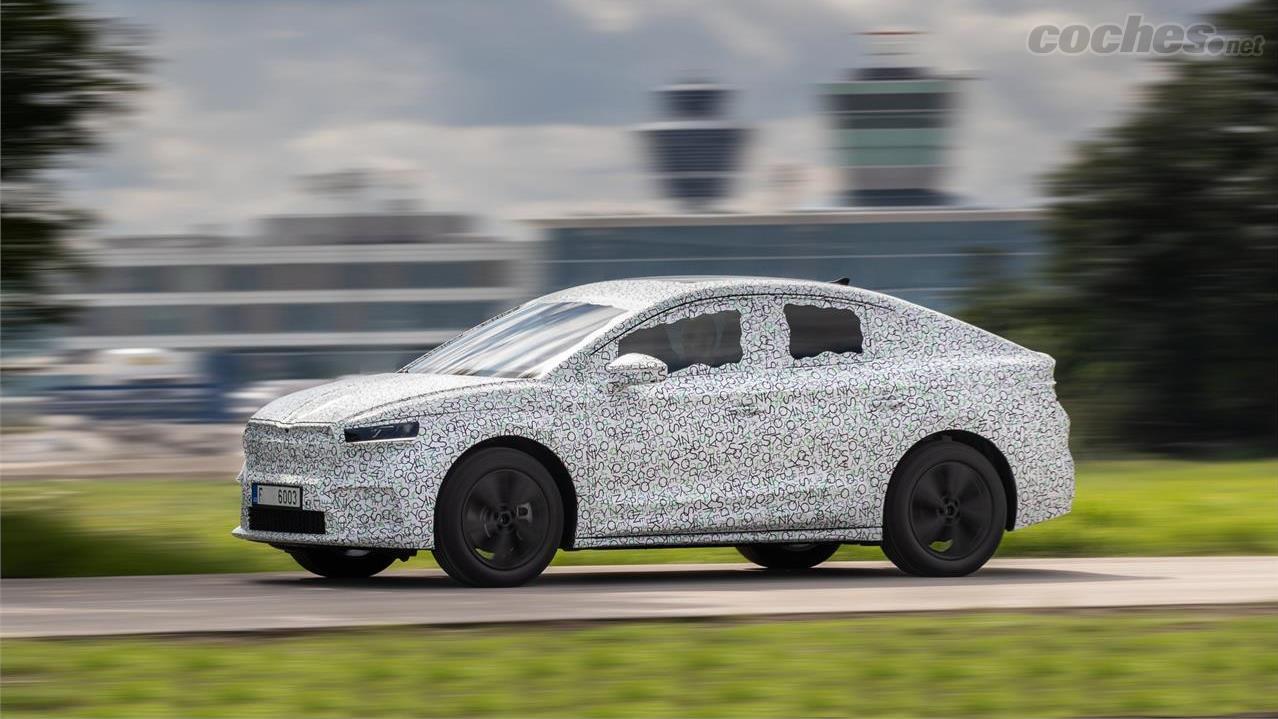 SKODA Enyaq - Un SUV est une chose et un SUV coupé en est une autre.  Si vous aussi vous voulez qu'ils soient électriques, Škoda vous donnera bientôt le choix.
