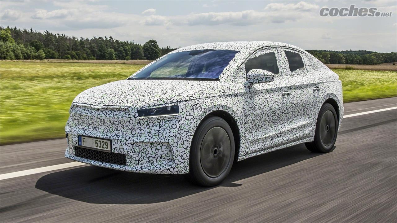 Škoda Enyaq Coupé iV : Prêts, prêts...